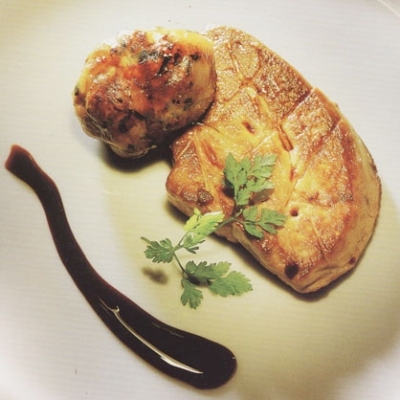 PAN FRIED FOIE GRAS ESCALOPES picture