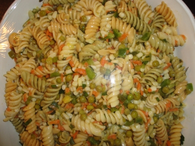 summer pasta salad picture