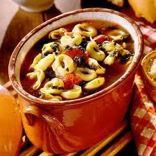 Italian Sausage Tortellini Soup picture