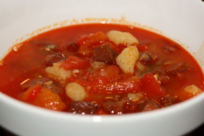 Spiced Chickpea and Tomato Soup picture