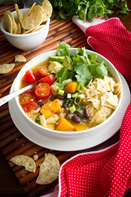 Catherine's Spicy Chicken Soup picture