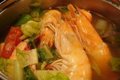 Big Ed's Cajun Shrimp Soup INTER CONTINENTAL DAR AL TAWHID -By Chef Mo picture