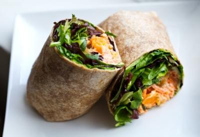 Fiesta Veggie Wrap Recipe