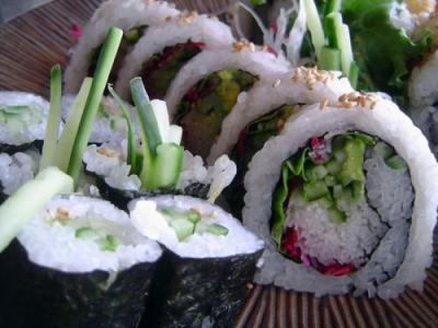 Veggie Sushi Rolls picture
