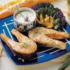 Salmon with Chive Mayonnaise picture