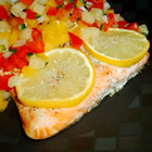 Salmon with Fruit Salsa picture