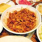 salsa chicken burrito filling picture