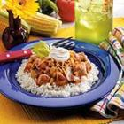 salsa chicken skillet picture