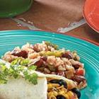 salsa red beans n rice picture