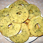 Salt and Garlic Bagel Chips picture