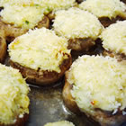savory crab stuffed mushrooms picture