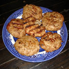 seasoned turkey burgers picture