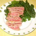 sesame seared tuna picture