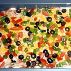 seven layer dip picture