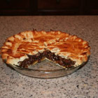 simple raisin pie picture