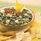Six Cheese Italian Spinach Artichoke Dip picture