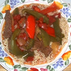 Slow Cooker Pepper Steak picture