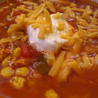 slow-cooker chicken tortilla soup picture