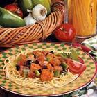 Snappy Eggplant Spaghetti picture