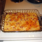 Spam and Cheese Casserole picture