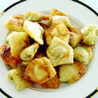 spicy chicken and cilantro wontons picture