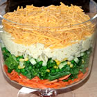 Spicy English Seven-Layer Salad picture