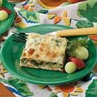 spinach cheese phyllo squares picture