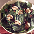 spinach salad with citrus vinaigrette picture