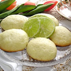 spring lime tea cookies picture
