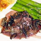 steak tips with mushroom sauce picture