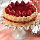 strawberry torte picture