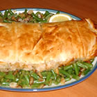 stuffed fish in puff pastry picture