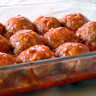 Sweet and Sour Faux Meat Balls picture