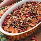 sweet potato cranberry bake picture