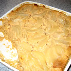 Sweet Potato, Pear and Pineapple Bread Pudding picture