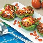 Taco-Stuffed Pepper Cups picture