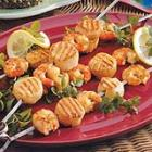 tangy shrimp and scallops picture