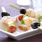 tangy shrimp appetizer skewers picture