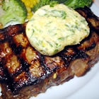 Tenderloin with Spicy Gorgonzola-Pine Nut-Herb Butter picture