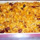 throw together mexican casserole picture
