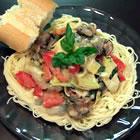 Tomato Alfredo Sauce with Artichokes picture
