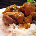 trinidad stewed chicken picture