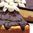 Triple Chocolate and Vanilla Cheesecake picture