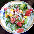 Tropical Salad with Pineapple Vinaigrette picture