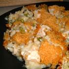 almond chicken casserole picture