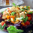almond chicken salad picture