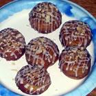 almond crescent buns picture