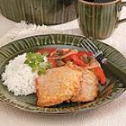 Veal Cutlet with Red Peppers picture