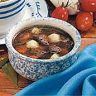 vegetable beef soup picture