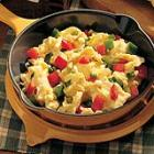 vegetable scrambled eggs picture